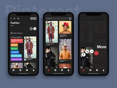 oday we want to present you this great free Figma resource. Pinterest Dark UI Kit contains 3 well-designed screens on iPhone X. You can download and play with this resource for free.
