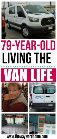 This 79-year-old woman left senior housing to travel in a Ford Transit conversion van. #vanlife #vanlifedreams #ford