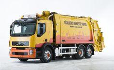 Volvo Hybrid Garbage Truck - Automotorblog