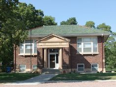 Merna NE library