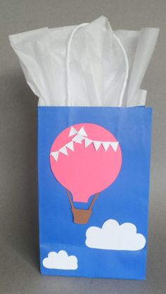 Favor / Cand Bags for a Hot Air Balloon Themed Party by PAPALOTES, $22.99