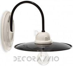 Светильник настенный накладной Ferroluce Black&White, C001