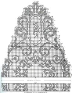 Magic crochet № 144 - Edivana - Picasa Albums Web Crochet Doily Diagram, Filet Crochet Charts, Crochet Doily Patterns, Crochet Borders, Crochet Doilies, Embroidery Patterns, Lace Doilies, Crochet Table Runner, Crochet Tablecloth