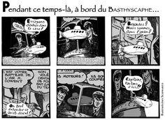 Publiée dans le Bathyscaphe n°8 (automne 2012). Strip n°3.