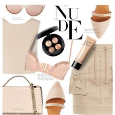 How To Wear Nude Fashion Outfit Idea 2017 - Fashion Trends Ready To Wear For Plus Size, Curvy Women Over 20, 30, 40, 50