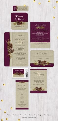 Pin by HappyGo Times on Rustic Country Wedding Invitations