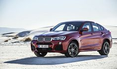 BMW X4 Red Passion
