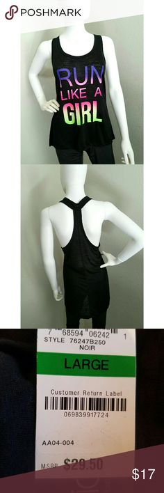 Racer back top NWT Ideology Tops Muscle Tees