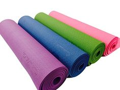 Sports and the City Yoga Mat  EcoFriendly with NonSlip and Durable TPE  Premium Quality Extra Long 72 Mat  Extra Thick 03 8mm  Comfortable and Good for All Movements >>> Visit the image link more details. (Note:Amazon affiliate link)