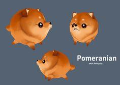 Pom-pom model by *Sajira on deviantART