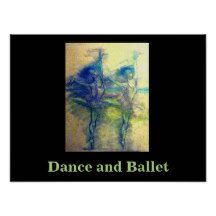 """Dance and Ballet"" Art Print by Carole Tomlinson"