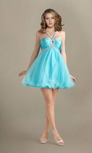 Cute A Line Straps Empire Short Cocktail Prom Dresses UK with Beaded Shoulder Strap P12Y10AU0296