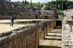 Anfiteatro de Itálica, Santiponce