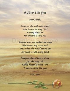 Sister Poems That Make You Cry       about Gift For Sister    Little Sister Poems That Make You Cry
