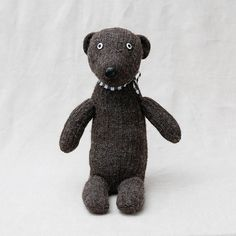 surprised bear soft toy – anzu new york