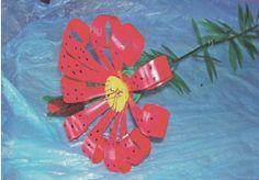 plastic bottle flowers!