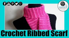 Crochet Beehive Spiral Scarf Tutorial