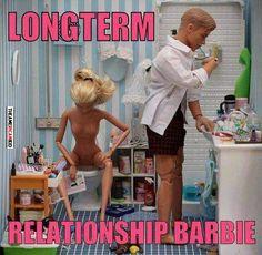 Long-term relationship: barbie