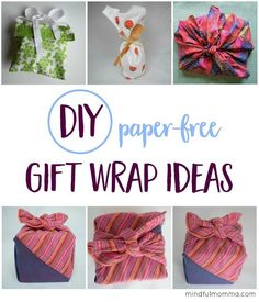 Unique Ways to Make the Gift Wrap Part of the Gift |   gift wrapping ideas | waste free | green living