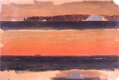 Frederic Edwin Church. Iceberg (study)