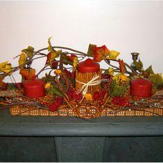 Thanksgiving Pretzel Centerpiece