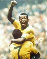 Pele the worlds best soccer player. Best in Soccer History. The greatest of all times!