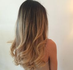 A perfect Flirtini = just a touch of fun curl. By Denise at The Blowout Bar in Columbus, Ohio.