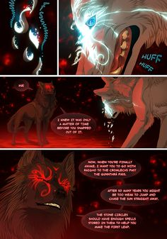 off-white part 203 Wolf Comics, Anime Comics, Off White Comic, Manga, Anime Wolf Drawing, Wolf Artwork, Warrior Cats Art, Snap Out Of It, Wolf Pictures