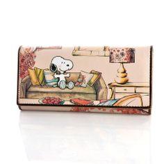 Snoopy 2013 women's long design fashion cartoon wallet s8009 mujer PU bags bolsos carteras