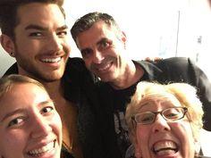 An Adam Selfie - Now That's My #TheOriginalHigh #AdamLambert #LateShow #JimmyFallon #GhostTown