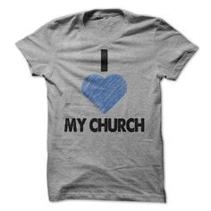 I Heart My Church Tee Sports Grey Blue Heart T Shirts, Hoodie. Shopping Online…