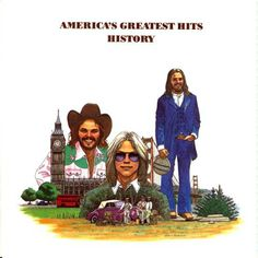 The late Phil Hartman was the artist who created this album cover for America. Click thru for the story.