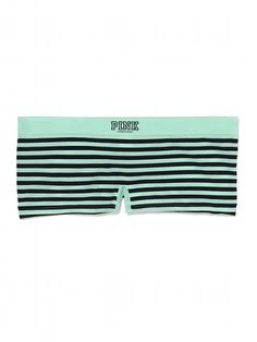 Seamless Boyshort Panty in Stripes - PINK - Victoria's Secret