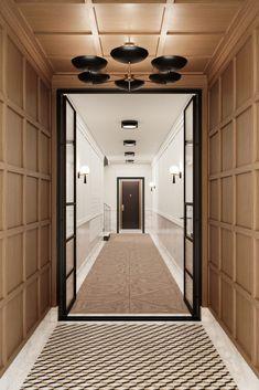Home Design, Flur Design, Interior Design, Design Interiors, Interior Office, Modern Interior, Design Design, Design Ideas, Ceiling Design
