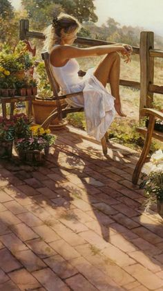 Watercolor Paintings by Steve Hanks | Cuded