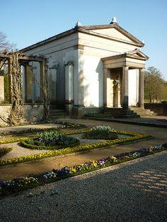 Tea Pavilion, Park Schloss Charlottenhof - Schinkel