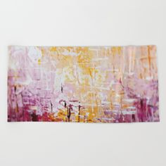 colorful modern abstract mixed media painting 6 Beach Towel by dorotahenk Vienna Austria, Mixed Media Painting, Instagram Accounts, Beach Towel, Polish, Tapestry, Abstract, Modern, Artwork