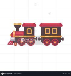 Christmas Brochure, Train Illustration, Train Vector, Cute Little Kittens, Red Sign, Letters For Kids, Sleeping Kitten, Orange Pillows, Christmas Train