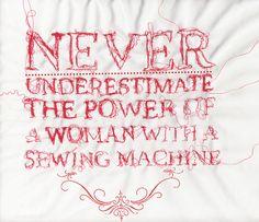 sewing machine power