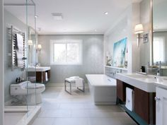 Luxurious baths designed by HGTV stars