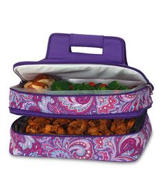 Take a look at this Purple Envy Entertainer Food Tote by Picnic Plus on #zulily today!