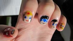 DC Comics nails