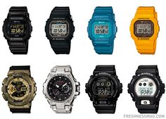 Casio G Shock – October 2013 | New Releases