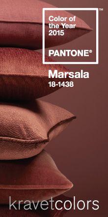 Marsala: Pantone Color of the Year 2015 www.carolpyfrom.com
