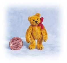 Small Old Bear Miniature Teddy Bear Kit by EmilyFarmerMiniBears