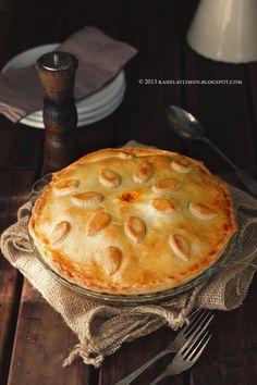 Kanela y Limón: Pastel de pasta con albóndigas