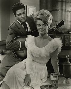 A scene from Viva Las Vegas with Elvis and Ann Margaret ... I loved Elvis movies