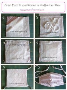 Diy Mask, Diy Face Mask, Sewing Hacks, Sewing Crafts, Sewing Projects For Kids, Diy Recycle, Felt Fabric, Craft Tutorials, Diy Tutorial