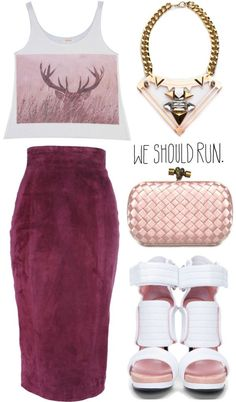 """""""we should run."""" by goldiloxx on Polyvore"""