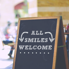 NO MATTER WHAT SHAPE your smile's in, we want to see you! Schedule an appointment today! http://www.stutlerdental.com/appointment.html